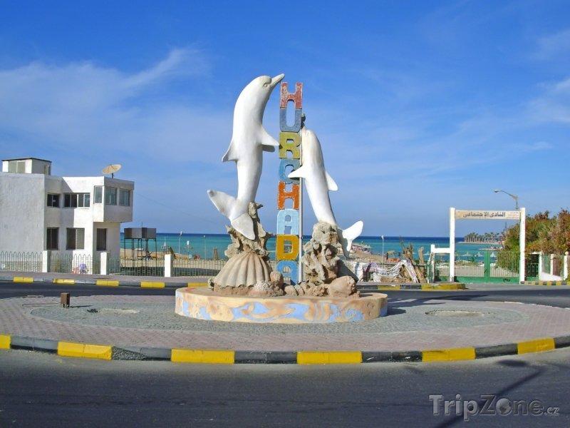 Fotka, Foto Vchod na veřejnou pláž (Hurghada, Egypt)