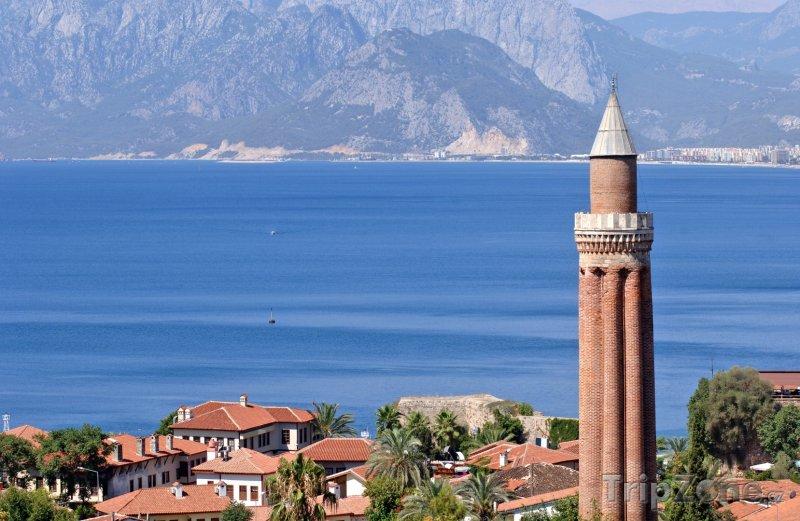 Fotka, Foto Věž minaretu Yivli (Antalya, Turecko)