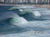 Vlny u pobřeží Ria