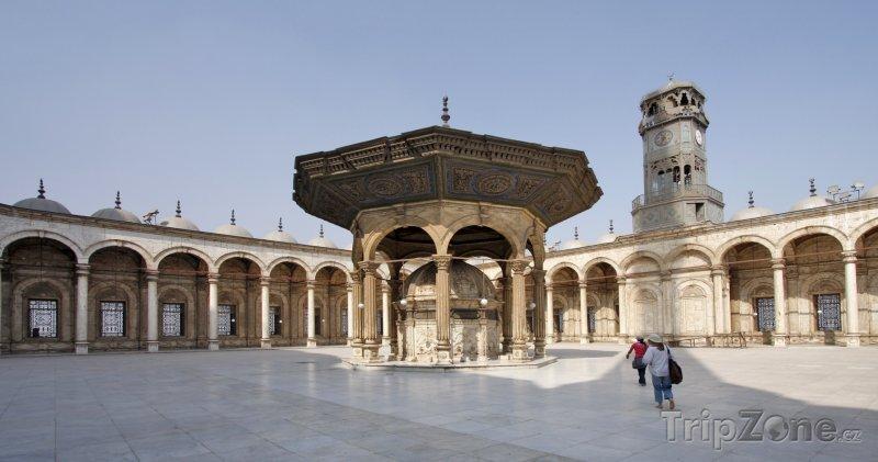 Fotka, Foto Vnitřek mešity Muhammada Alího (Káhira, Egypt)