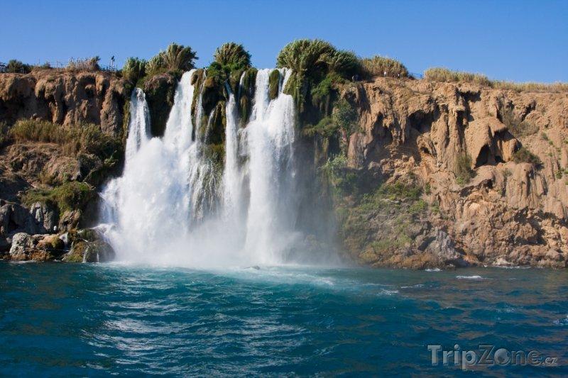 Fotka, Foto Vodopád Duden (Antalya, Turecko)