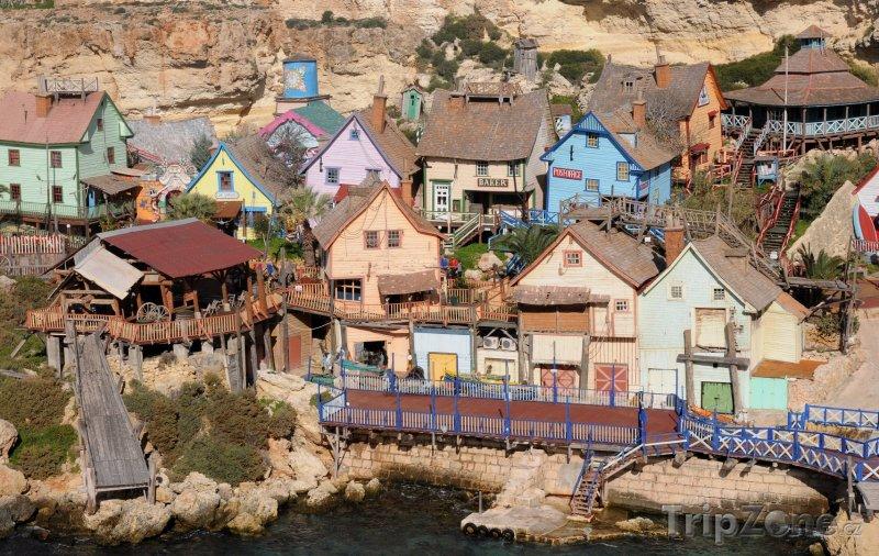Fotka, Foto Zábavní komplex Popeye Village (Malta)