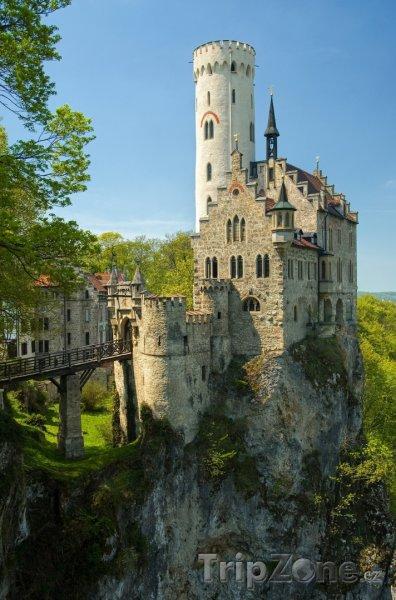 Fotka, Foto Zámek Lichtenstein (Bádensko-Württembersko, Německo)