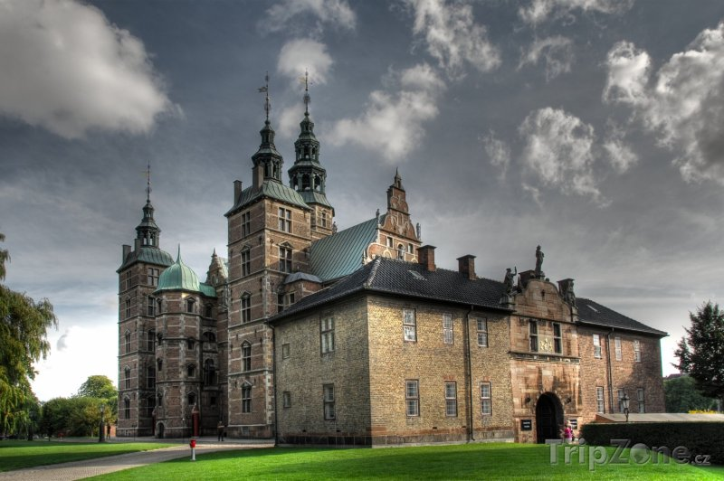 Fotka, Foto Zámek Rosenborg (Kodaň, Dánsko)