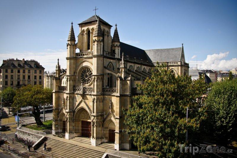 Fotka, Foto Ženeva - katedrála Notre Dame (Švýcarsko)