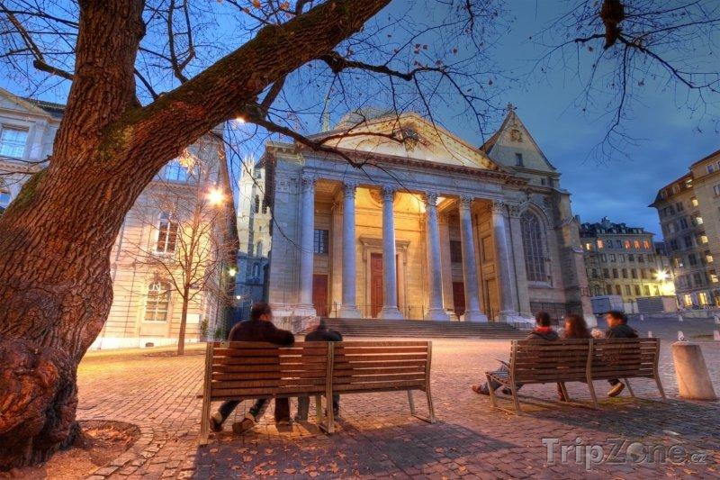 Fotka, Foto Ženeva - katedrála St.Pierre (Švýcarsko)