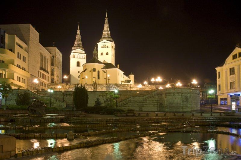 Fotka, Foto Žilina, katedrála Nejsvětější Trojice (Slovensko)