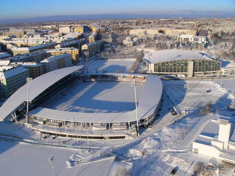 Fotka, Foto Zimní stadion (Helsinky, Finsko)