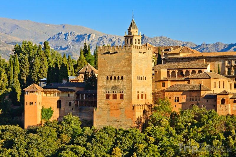 Fotka, Foto Alhambra (Granada, Španělsko)