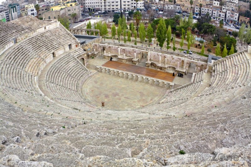 Fotka, Foto Amfiteatr v Ammánu (Jordánsko)