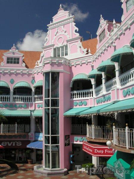Fotka, Foto Architektura ve městě Oranjestad (Aruba)