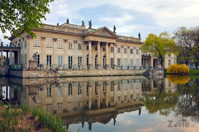 Fotka, Foto Łazienki, Palác na vodě (Varšava, Polsko)