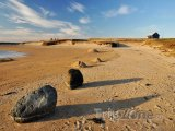 Balvany na pláži