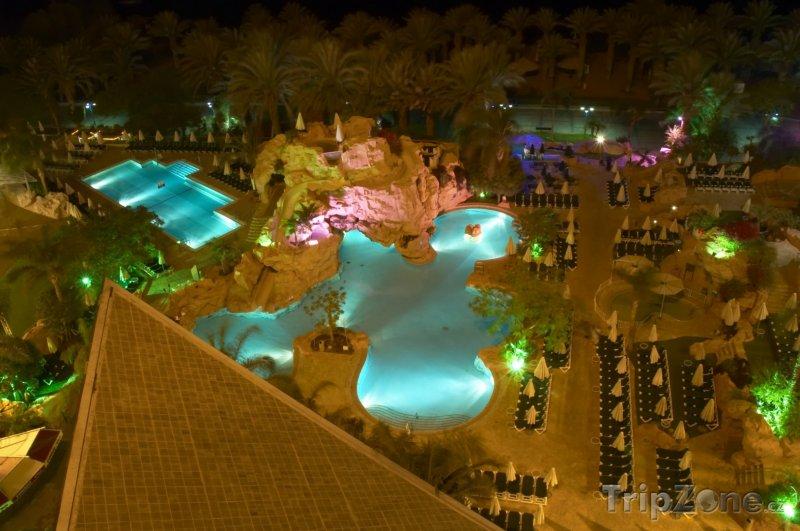 Fotka, Foto Bazény v hotelovém resortu (Ejlat, Izrael)
