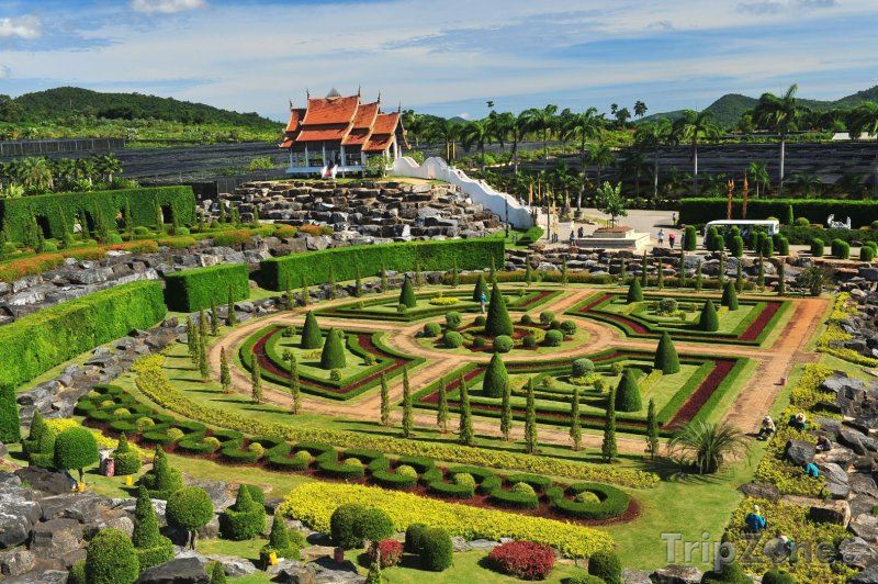 Fotka, Foto Botanická zahrada Nong Nooch (Pattaya, Thajsko)