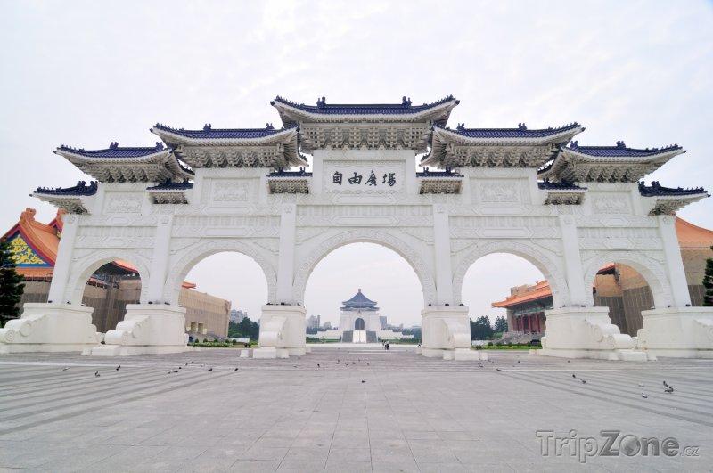 Fotka, Foto Brána do Chiang Kai-shek Memorial Hall (Tchaj-wan)