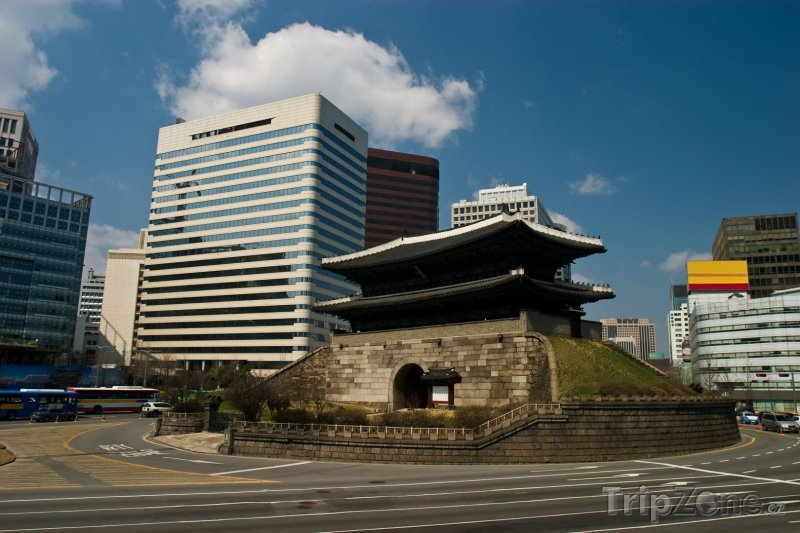 Fotka, Foto Brána Namdemun (Soul, Jižní Korea)