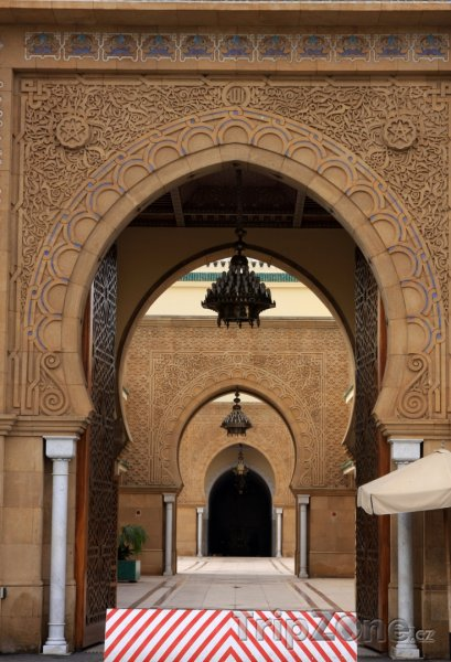 Fotka, Foto Brány v Královském paláci (Rabat, Maroko)