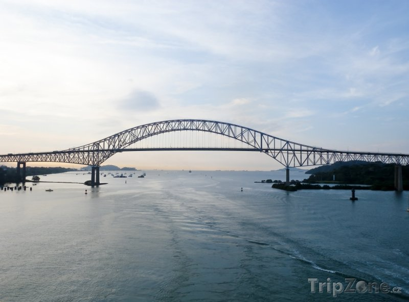 Fotka, Foto Bridge of the Americas (Panama)