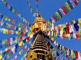 Buddhistická stúpa ve městě Káthmándú