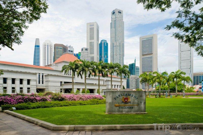 Fotka, Foto Budova parlamentu (Singapur)