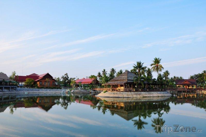 Fotka, Foto Bungalovy v laguně (Pattaya, Thajsko)
