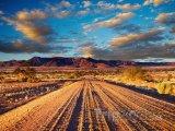 Cesta v poušti Kalahari