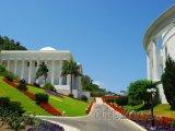 Cesta v zahradách Bahá'í