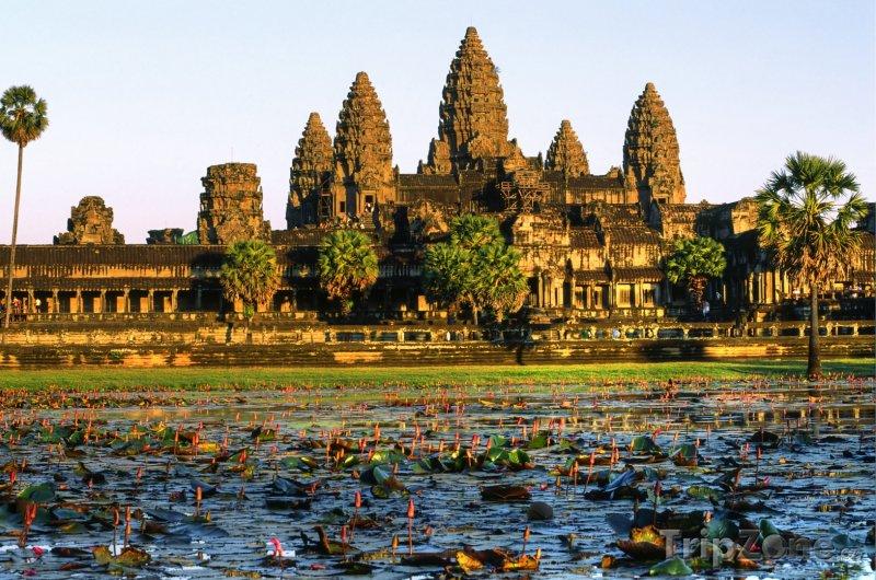 Fotka, Foto Chrám Angkor Vat (Kambodža)