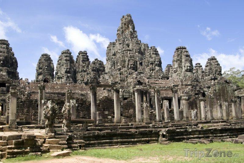 Fotka, Foto Chrám Bayon v Angkor Vat (Kambodža)
