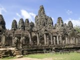 Chrám Bayon v Angkor Vat