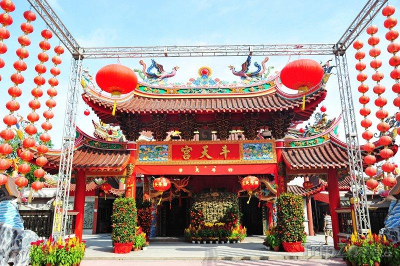 Fotka, Foto Chrám Dou Tian Gong (Singapur)