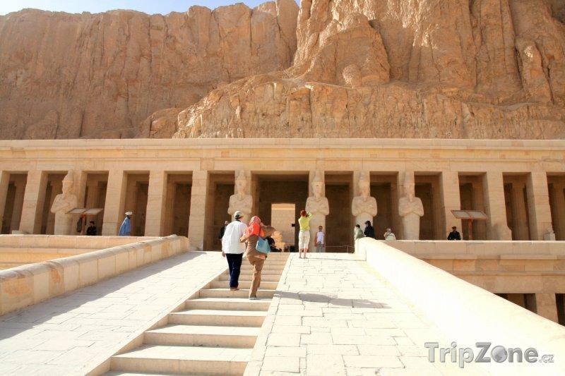 Fotka, Foto Chrám královny Hatšepsut (Egypt)