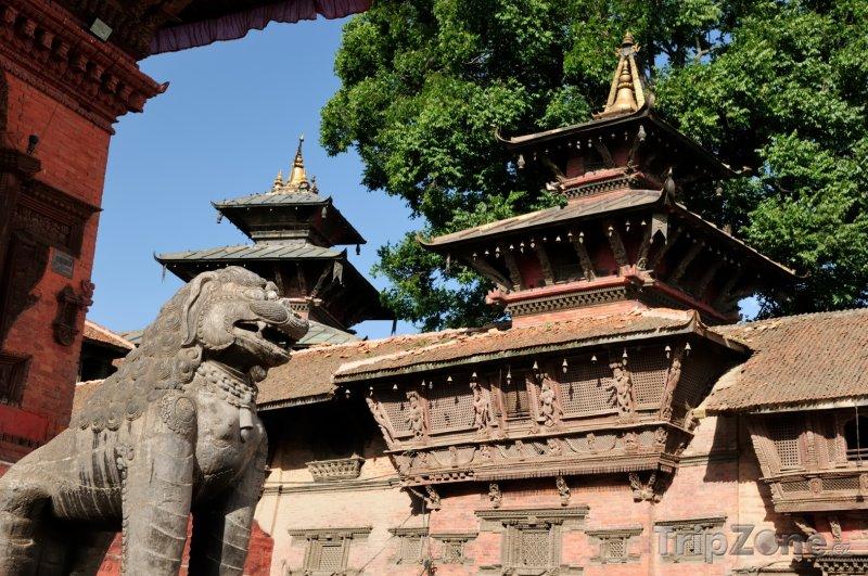 Fotka, Foto Chrám Nyatapola ve městě Bhaktapur (Nepál)