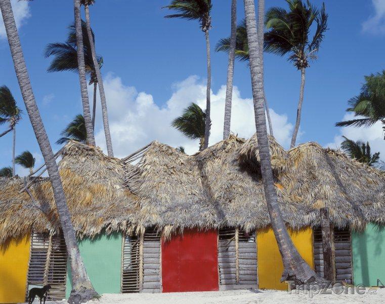 Fotka, Foto Chýše v Punta Cana (Dominikánská republika)