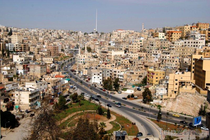 Fotka, Foto Domy v Ammánu (Jordánsko)