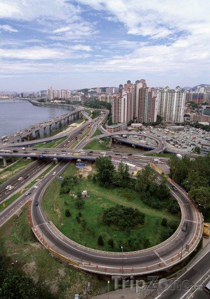 Fotka, Foto Dopravní infrastruktura (Soul, Jižní Korea)