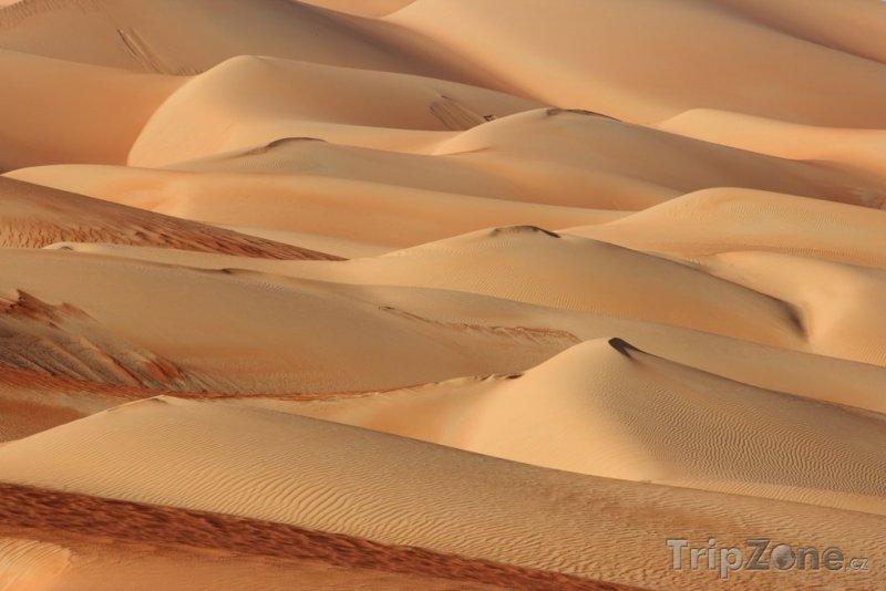 Fotka, Foto Duny v poušti Rub al-Chálí (Saúdská Arábie)