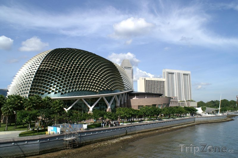 Fotka, Foto Esplande, Theatres on the Bay (Singapur)
