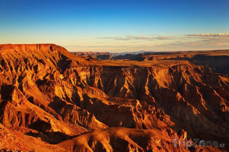 Fotka, Foto Fish River, druhý největší kaňon na světě (Namibie)