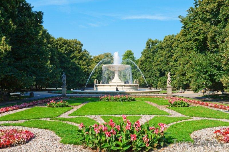 Fotka, Foto Fontána v parku Ogród Saski (Varšava, Polsko)