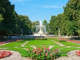 Fontána v parku Ogród Saski