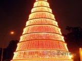 Gigantický vánoční strom
