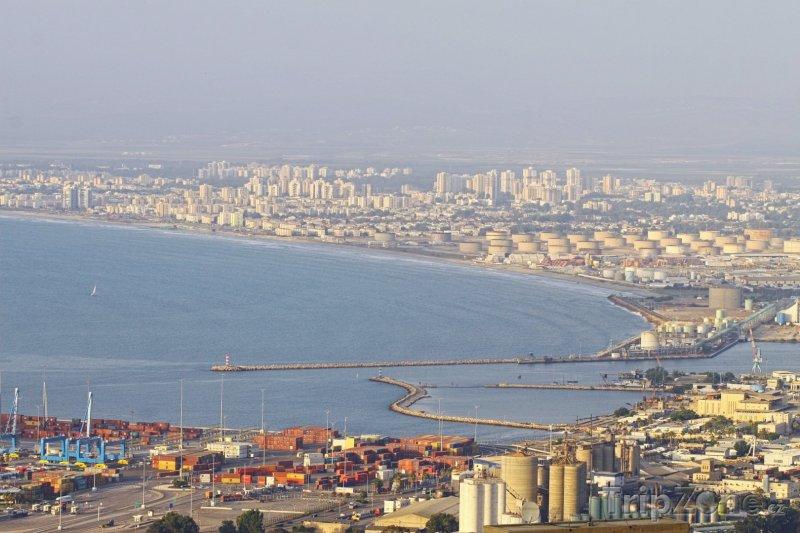 Fotka, Foto Haifský záliv (Haifa, Izrael)