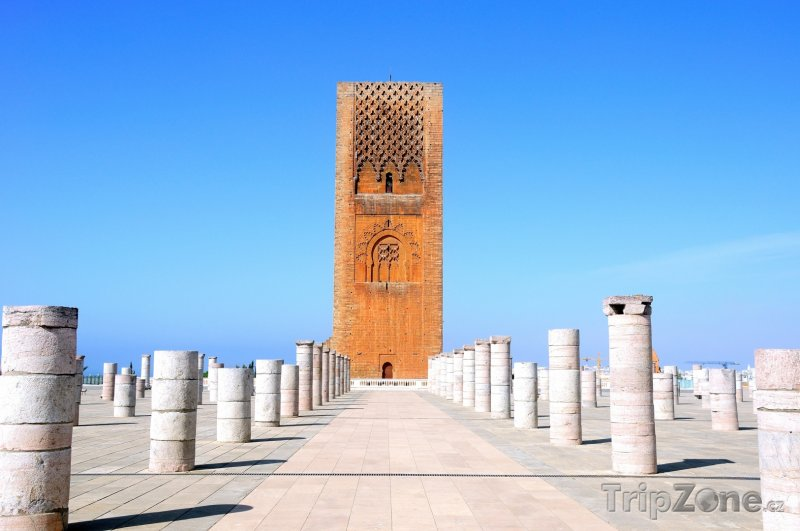 Fotka, Foto Hassanova věž (Rabat, Maroko)