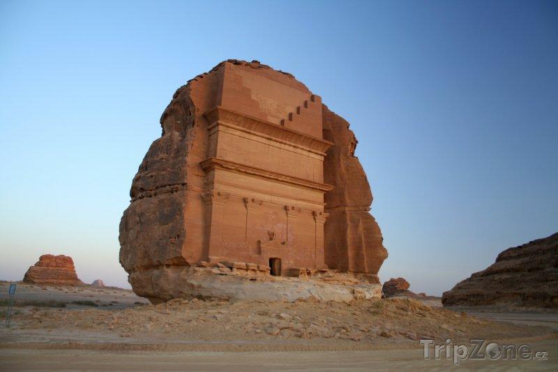 Fotka, Foto Hegra, hrobka (Saúdská Arábie)