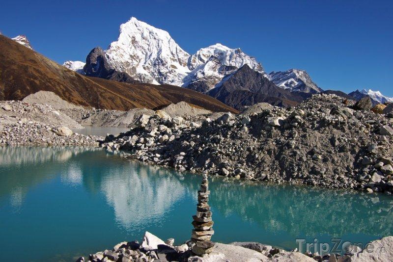 Fotka, Foto Horské jezírko (Nepál)
