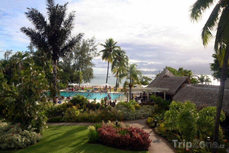 Fotka, Foto Hotelový resort v Papeete na Tahiti (Francouzská Polynésie)