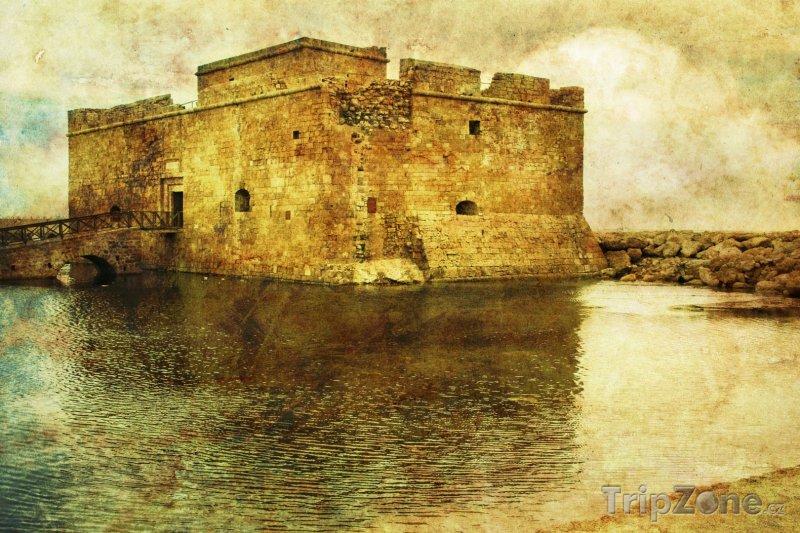 Fotka, Foto Hrad v přístavu (Pafos, Kypr)