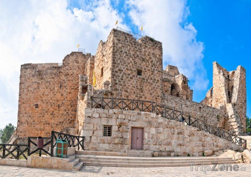 Fotka, Foto Hrad ve městě Ajloun (Jordánsko)
